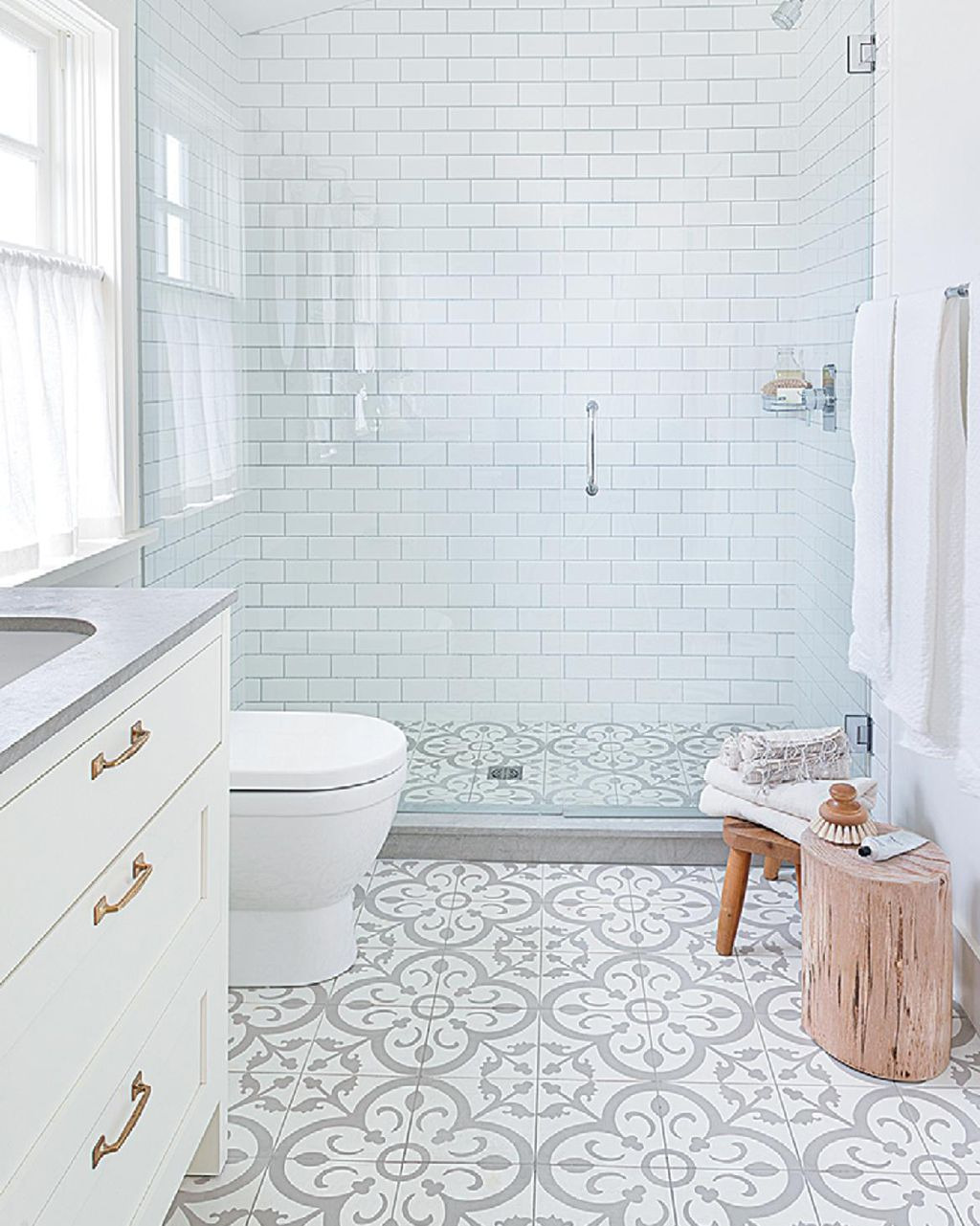 Decorative Tiles for Bathroom Awesome All About Patterned Tile Flooring by