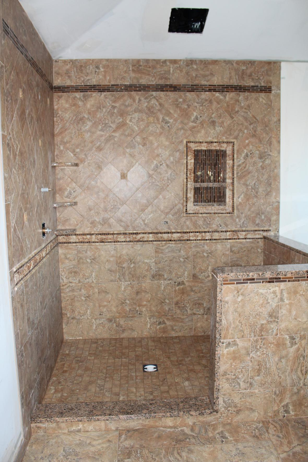 showroom bud of wall pattern uk with planner decorative kitchen latest shower bathtub fully modern white black flooring contemporary decorating tiled bathrooms styles