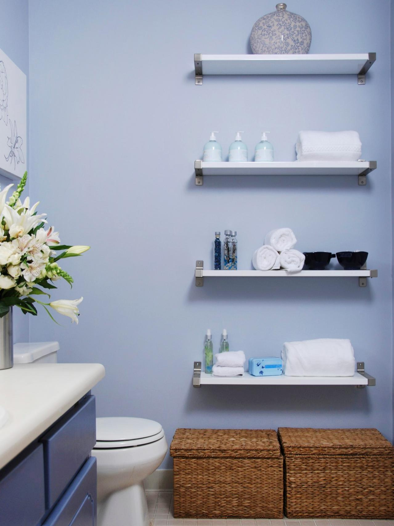 Decorative Wall Shelves for Bathroom Beautiful Shelves with Wall Mount Tv Stand Floating Ideas Decorative