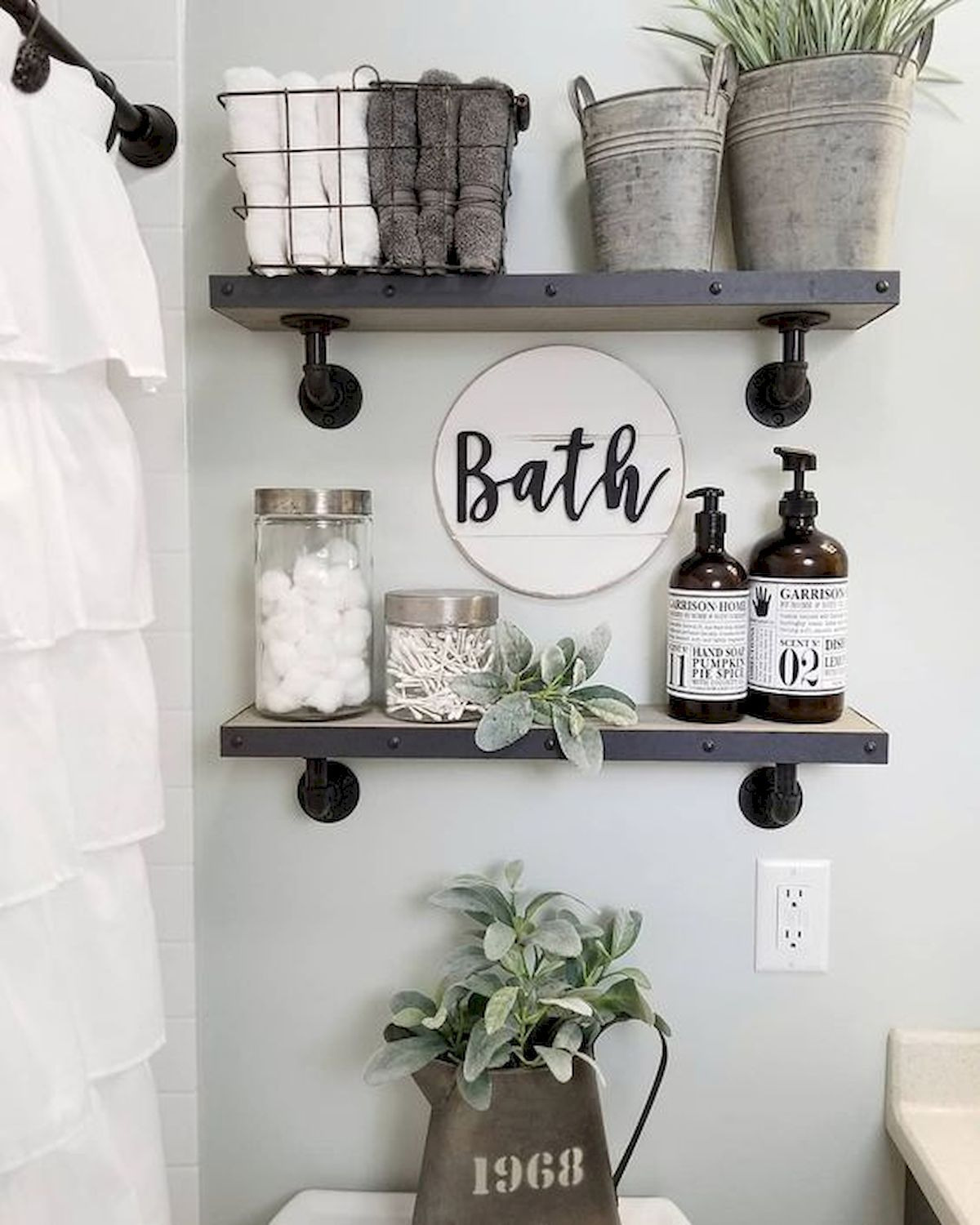 Decorative Wall Shelves for Bathroom Best Of 50 Awesome Wall Decoration Ideas for Bathroom