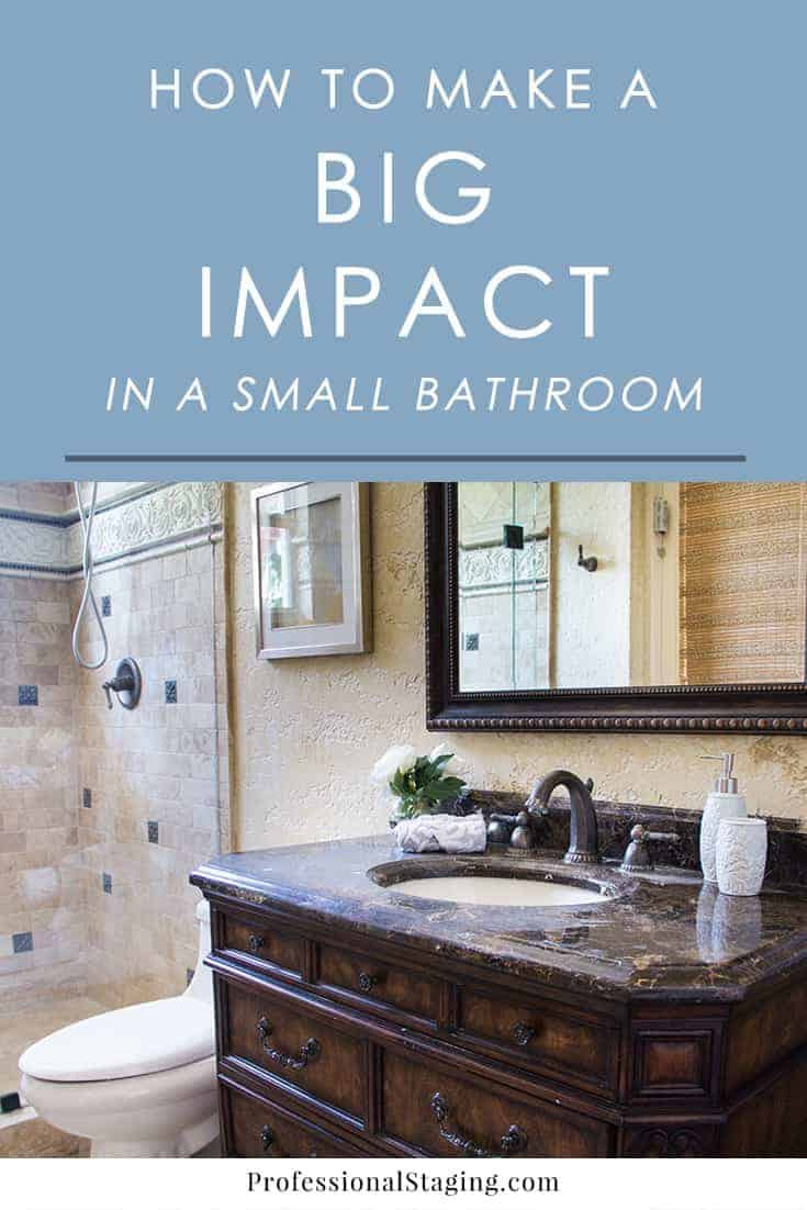 How Decorate A Small Bathroom Best Of How to Make A Big Impact In A Small Bathroom Mhm