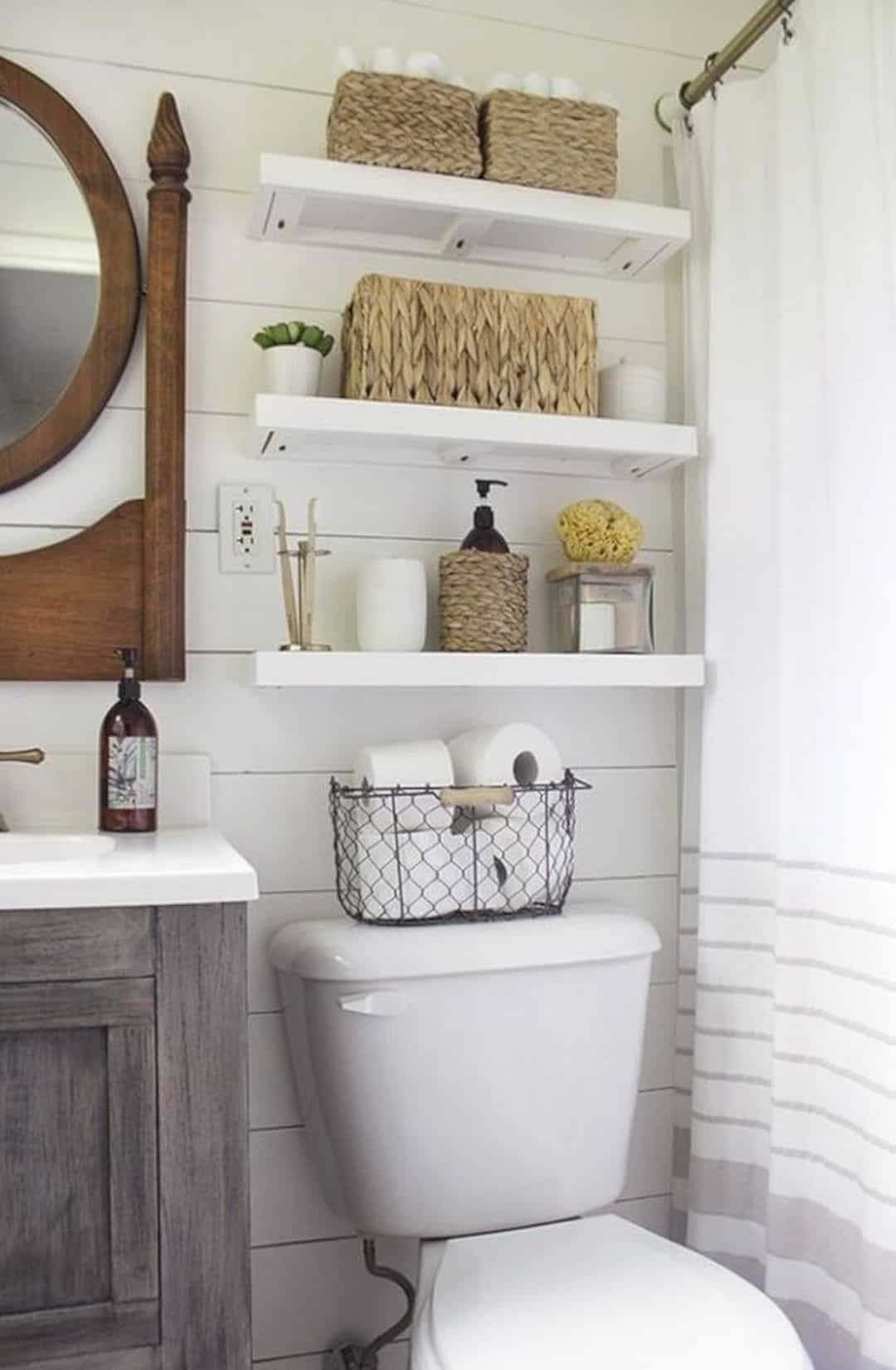 How to Decorate A Very Small Bathroom Unique 17 Awesome Small Bathroom Decorating Ideas