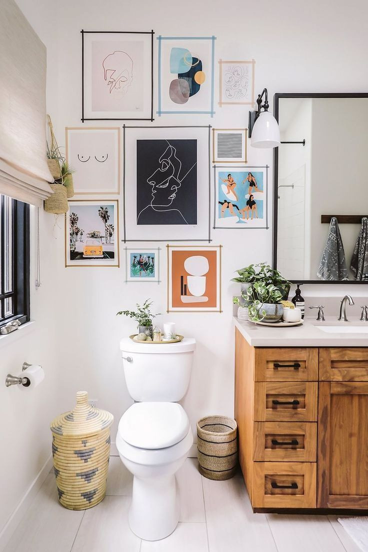 Ideas to Decorate Bathroom Walls Awesome Gallery Wall Art Ideas