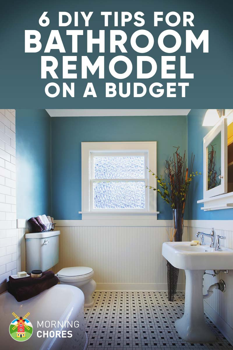6 Tips and Ideas for DIY Bathroom Remodel on a Bud FB