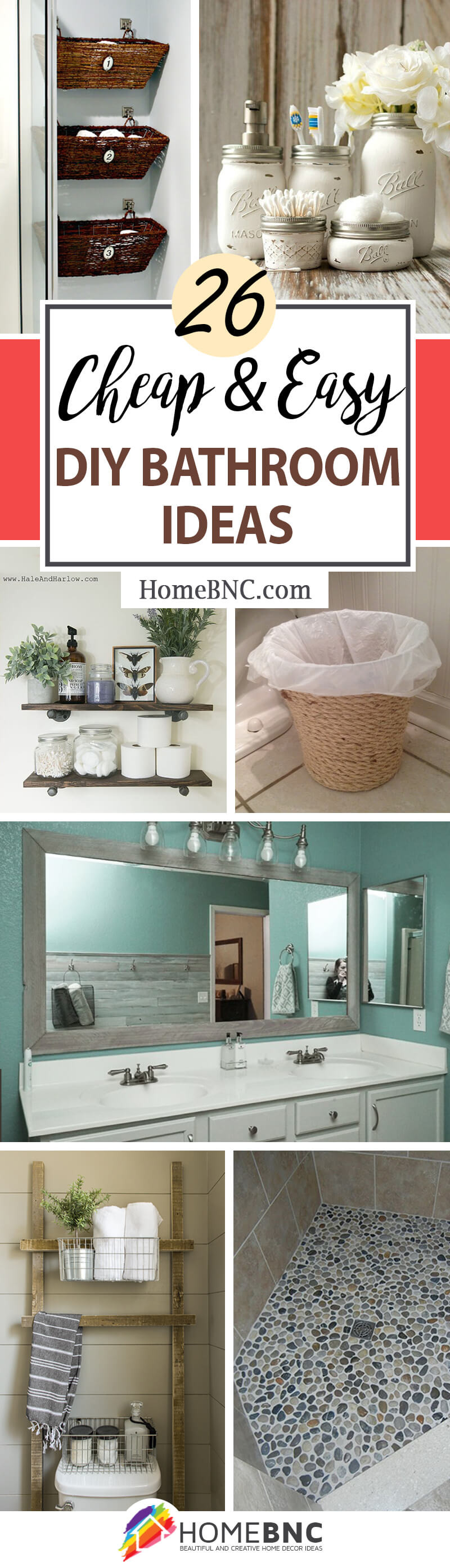 dŸ›€ diy bathroom decorating ideas on a bud dŸ›€ home decor 3