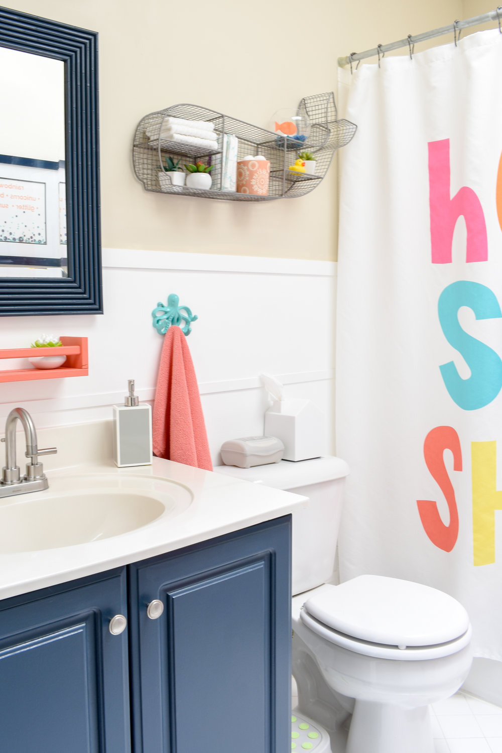 one day makeover staging a kids bathroom to sell in just 8 hours for under 200