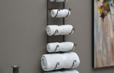 Metal Wall Decor For Bathroom Luxury Rustic Iron Wall Rack Future Home Ideas