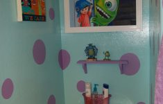 Monsters Inc Bathroom Decor Lovely Disney Monsters Bathroom Decorating Sully And Mike