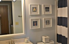 Nautical Bathroom Decorations Inspirational Nautical Bathroom Makeover the Cards We Drew