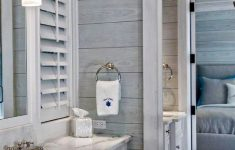 Nautical Decor for Bathrooms Beautiful 59 Gorgeous Coastal Beach Bathroom Decoration Ideas