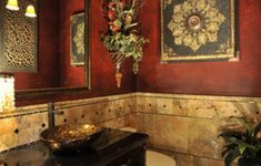 Old World Bathroom Decor Beautiful Bathroom Accents Tuscan Decor Old World Wall Small Rustic