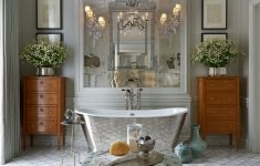 Pics Of Decorated Bathrooms Elegant Hot For 2016 Decorating Your Bathroom In Silver Hues Our