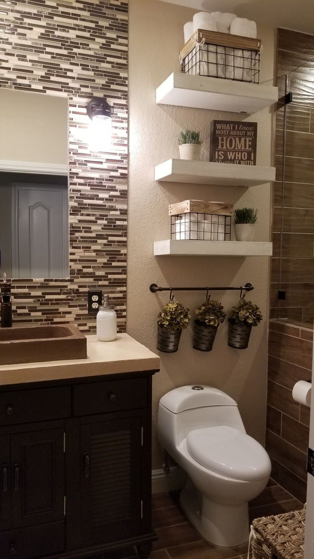 Pictures for Bathroom Decorating Ideas Best Of 80 Small Farmhouse Bathroom Decor Ideas Bathroom Decor
