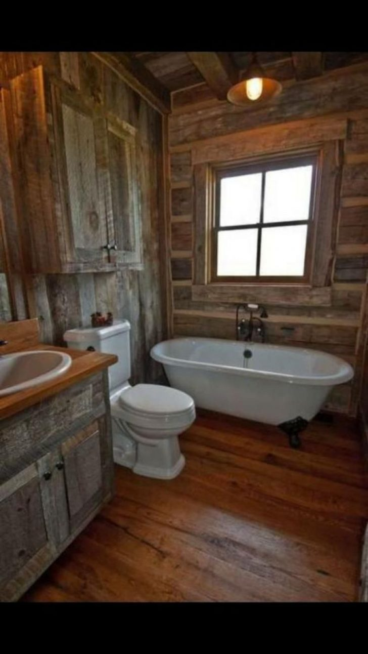 Rustic Cabin Bathroom Decor 2020