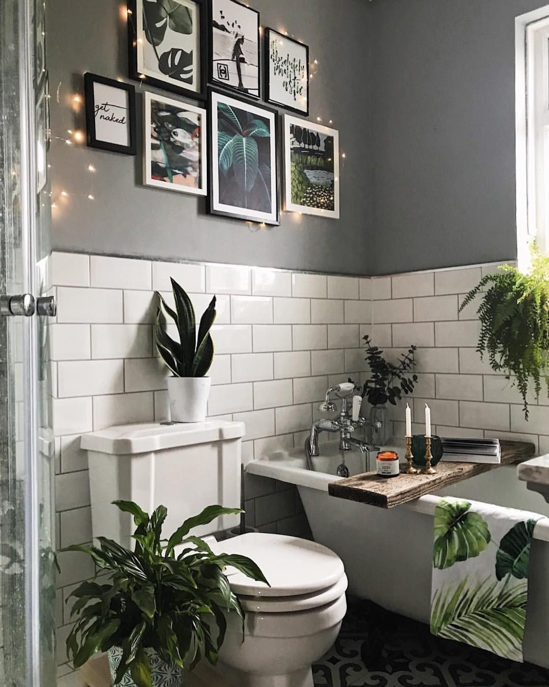 Wall Decor for the Bathroom Unique Gallery Wall Art In the Bathroom Grey and Metro White Tile