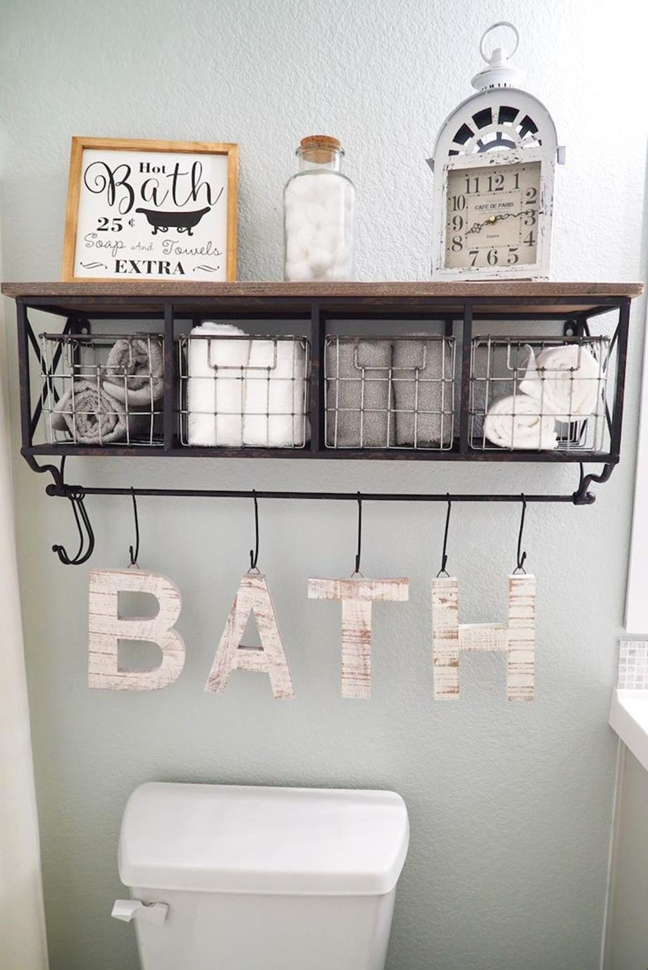 Wall Decor Ideas for Bathrooms Best Of 43 Simple but Beautiful Bathroom Wall Art and Decor